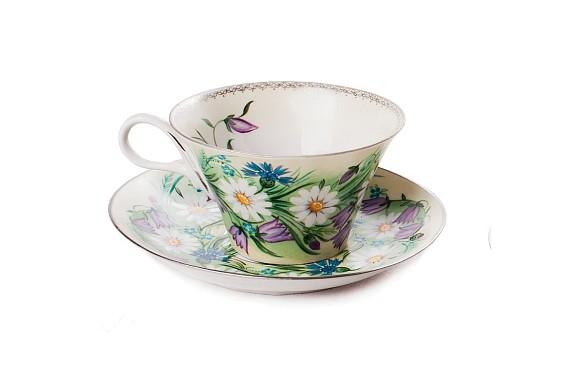 "Tea pair ""The breath of summer""."
