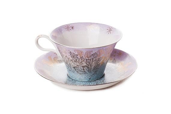"""Tea pair """"Breath of winter""""."""