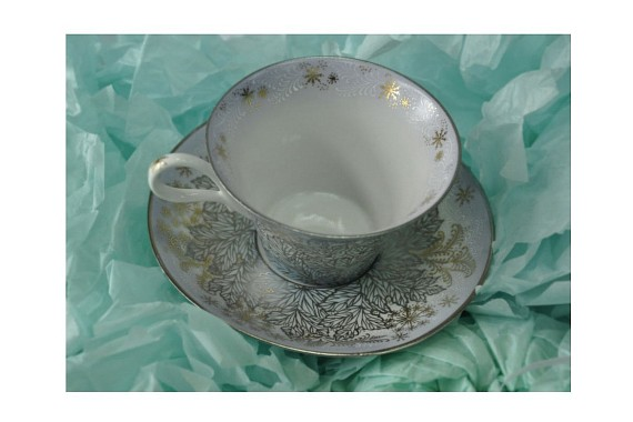 "Tea pair ""Breath of winter""."