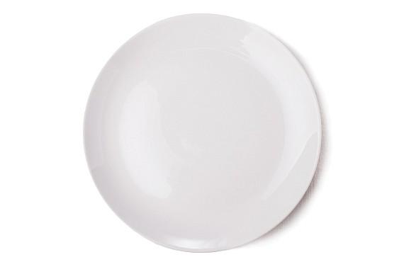 Тарелка декоративная 190 см. Белая