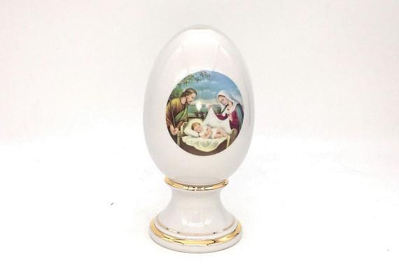 Яйцо пасхальное ф52  Мадонна